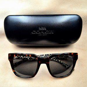 Coach Sunglasses HC8240 Dark Tortoise